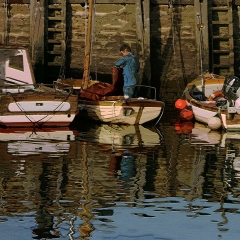 West Bay boats and fisherman 2